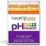 100 Ct. Per Pack Blameless Popular pH Test Strips Accurate Results Sensitive Scale Litmus Indicator Range pH4.5-pH9.0 with Color Chart