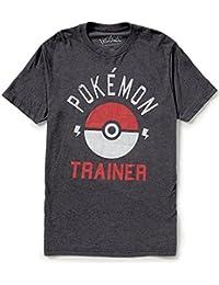 Pokemon Trainer Pokeball Mens Tee Shirt