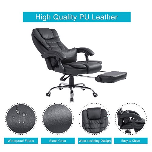 acepro reclining chair executive racing style gaming office computer