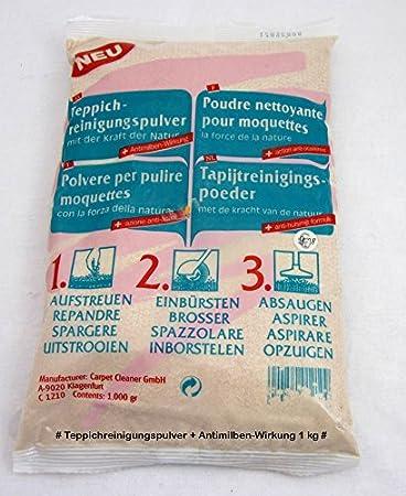 Carpet Cleaner GmbH Teppich-Reinigungspulver - mit der Kraft der ...