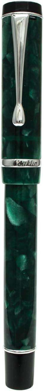 Conklin Duragraph Forest Green Fountain Pen CK71321 Fine Nib