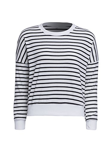 PERSUN Classic Shoulder Pullover Sweatshirt