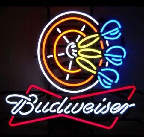 Amazon.com: New Star Neon Factory Budweiser Darts - Cartel ...