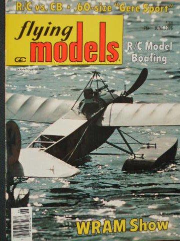 Flying Models, June 1976