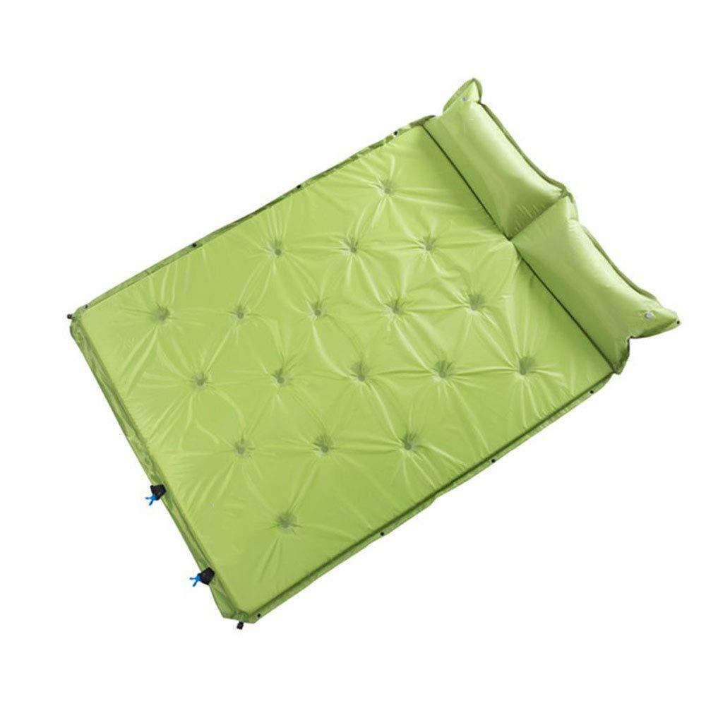Sleeping Mats - Outdoor-Bodenmatte Automatische aufblasbare Reise Camping Double kann gespleißt Werden selbstfüllende Moisture Pad Portable -HG