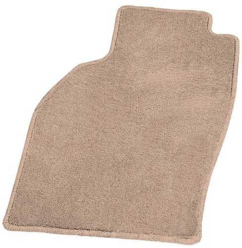 Coverking Front Custom Fit Floor Mats for Select Ferrari 348 Models - 40 Oz Carpet (Beige)