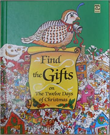 How Many Gifts Are In The Twelve Days Of Christmas.Amazon Com Find The Gifts On The Twelve Days Of Christmas