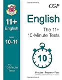 10-Minute Tests for 11+ English Ages 10-11 (for GL & Other Test Providers)