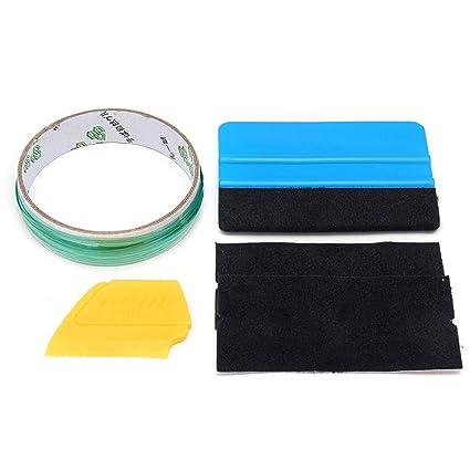 fae95d330e78f Amazon.com: 5pcs 5m Finish Cutting Line Knifeless Tape with Squeegee ...