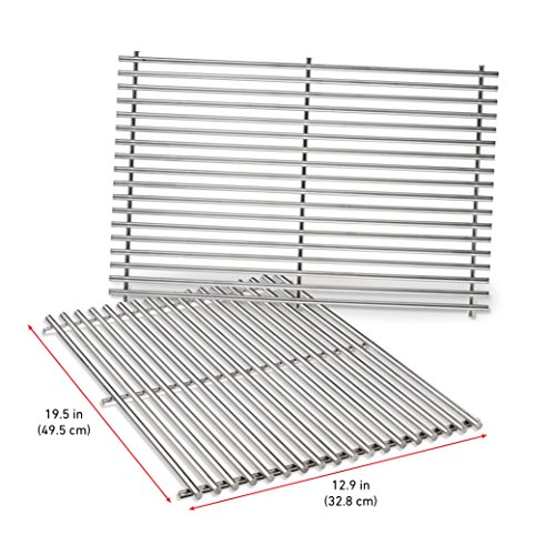 Weber 7528 Stainless Steel Cooking Grates (19.5 x 12.9 x 0.6) by Weber (Image #2)
