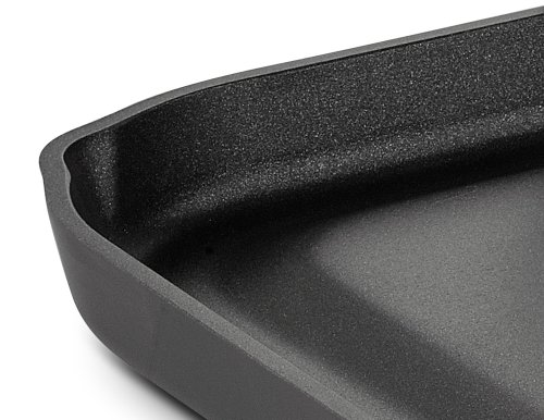 All-Clad 3020 Hard Anodized Aluminum Scratch Resistant Nonstick Anti-Warp Base Double Burner Grande 13-Inch by 20-Inch Griddle Specialty Cookware, 20-Inch, Black by All-Clad (Image #4)