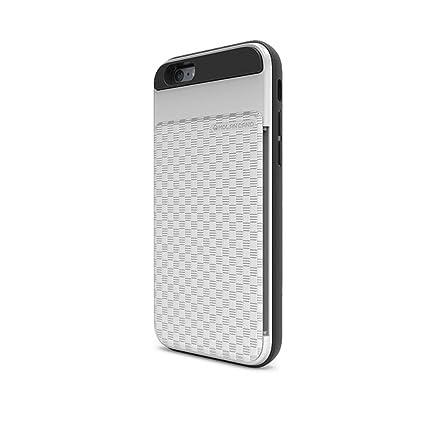 Amazon.com: HERO tarjeta funda Bumper para Apple Iphone 6 ...