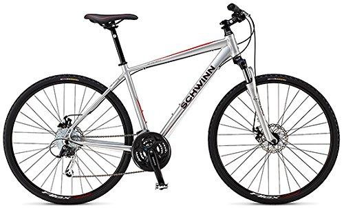 シュウィン 2014 SEARCHER 2 クロスバイク B079GQBHFZマットシルバー S39.4cm(150-165cm)