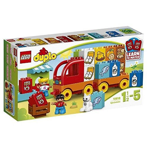 LEGO Duplo 10818 - Mein erster Lastwagen, Lernspielzeug, große Bausteine große Bausteine