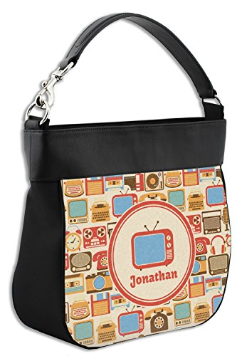 Personalized Purse Front Trim w Hobo Vintage Leather Gadgets Genuine xE0qSnY8w
