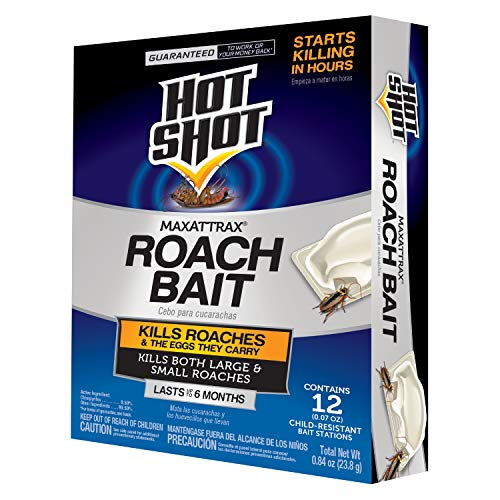 Hot Shot MaxAttrax Roach Bait 12-Count
