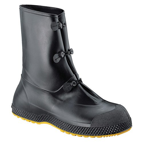 "Servus SuperFit 12"" PVC Dual-Compound Men's Overboots, Black"