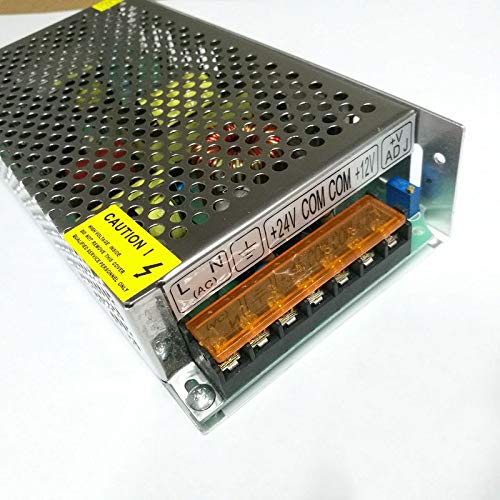 Utini 24V 12V Double Way Dual Output Switching Power Supply 150W-D-A Equipment Power Supply 24V5A 12V4A