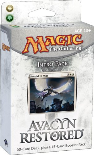 Magic the Gathering: MTG: Avacyn Restored Intro Pack: Angelic Might Theme Deck (White/Green)
