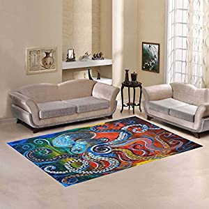 51rG211Qd6L._SS300_ 50+ Octopus Rugs and Octopus Area Rugs