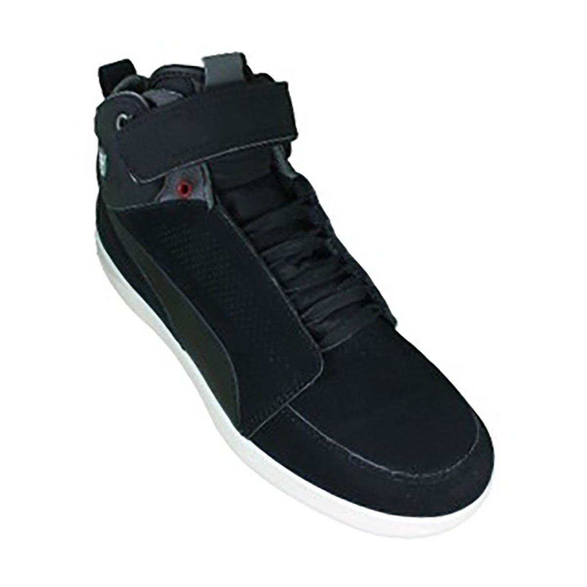 best service 08987 e516e Puma Rapido Sf Motor Ferrari Men's Black Suede Sneakers ...
