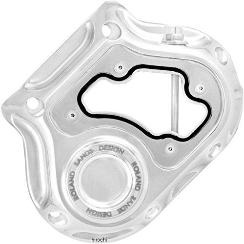 ローランドサンズデザイン RSD 5速トランスミッション サイド カバー 油圧クラッチ 87年-06年 ビックツイン クラリティ クローム 1105-0134 0177-2050-CH   B01M9940LM