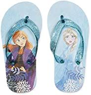 Disney Frozen Flip-Flop Sandal Shoes with/Without Backstrap Toddler/Little Kid