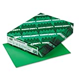 Recycled AstroBrights Colored Copy Paper, 24#, Letter, Gamma Green, 500/Rm WAU22541