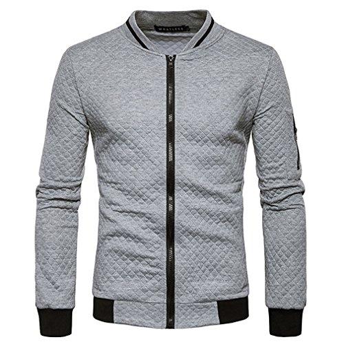 colore Dimensione Fen Uomo Collare Comodi Stand Fashion Da Giacca Primavera L Baseball Patchwork Classic 1 Cappotti Autunno wUAwqOWZg