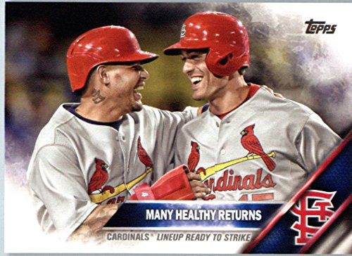 2016 Topps Limited Glossy Tiffany #492 Many Healthy Returns St. Louis Cardinals Baseball - Tiffany Returns