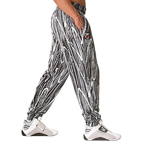 Workout Baggy Pants - Otomix Men's Black Wax Baggy Workout Pants XX-Large