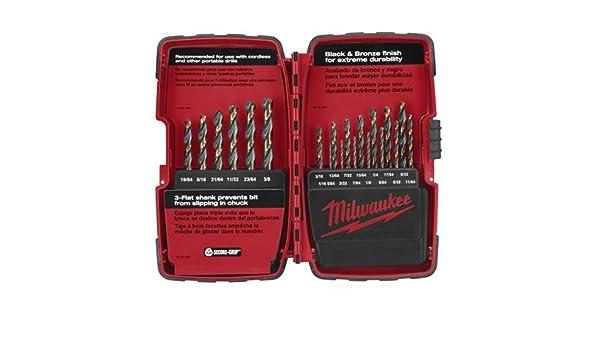 Milwaukee 48-89-1121 21 Piece Thunderbolt Black and Bronze Drill Bit Set NEW