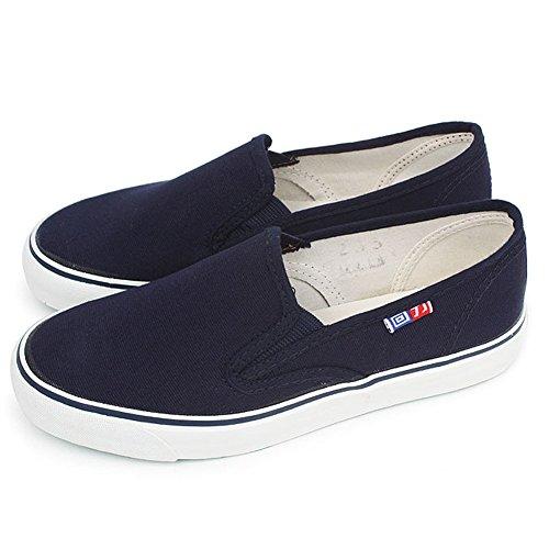 FloraFox Unisex Comfortable Slip-On Casual Shoes Flats Espadrilles Blue 43