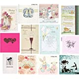 Mixed Occasion Greetings Cards 12 Pack