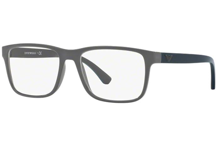 Armani EA3103 Eyeglass Frames 5559-55 - Matte Grey at Amazon Men\'s ...