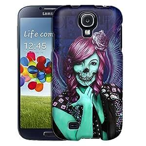Samsung Galaxy S4 Case, Slim Fit Snap On Cover by Trek Groupie Skull Case