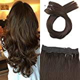 Moresoo Hair Extensions Brown Halo Remy Human Hair - Best Reviews Guide