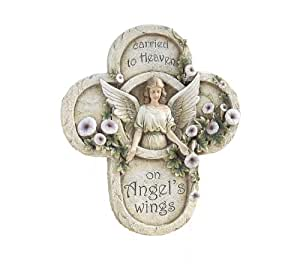 Napco Sympathy or Memorial Angel Plaque with Sentiment