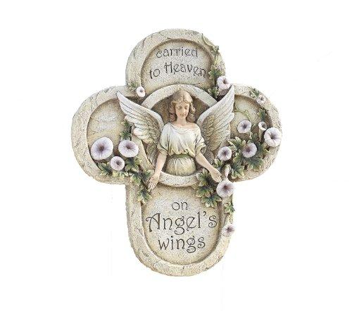 (Napco Sympathy or Memorial Angel Plaque with Sentiment)