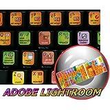 ADOBE LIGHTROOM KEYBOARD STICKER FOR DESKTOP, LAPTOP AND NOTEBOOK