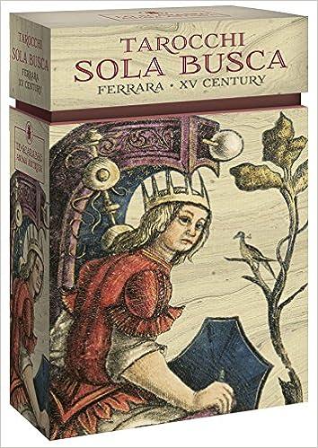 SOLA BUSCA (LIBRO + CARTAS)  TAROT: ANONIMO: 9788865275092 ...