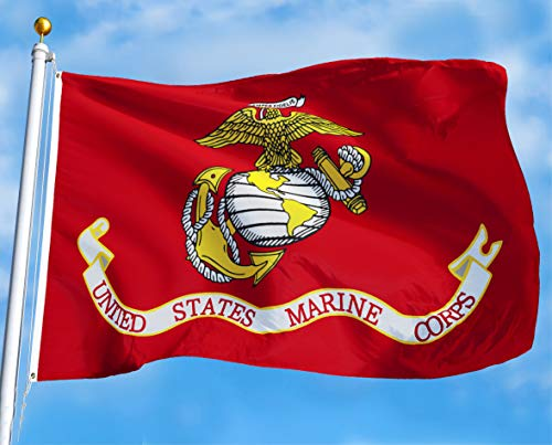 G128 - USMC US Marine Corps Flag 3x5 ft Printed United State