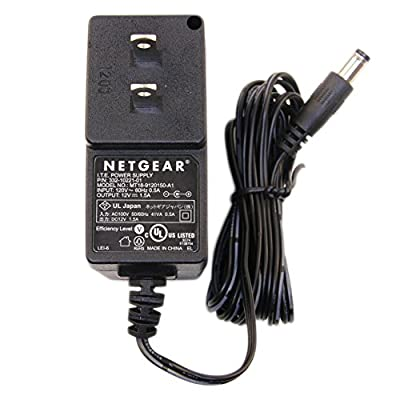 Netgear Power Supply 332-10221-01 MT18-9120150-A1 12V 1.5A for Netgear Wireless Router, Access Point & Bridge, DSL Modem, Cable Modem, Phone Gateway from Power Depot