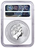 2019 AU Year of the Pig Silver Lunar
