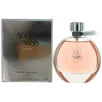 Acqua Di Parisis Venizia Perfume for Women By Reyane Tradition Eau De Parfum Spray 3.4 Oz
