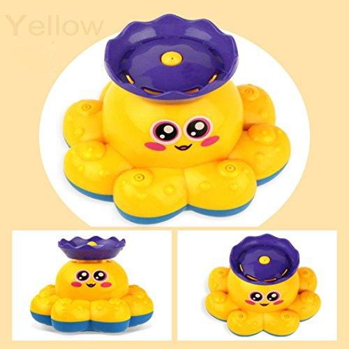 autumn-wind Bath Toy,Spray Water Octopus Toy Water Pump Electronic Sprayer...