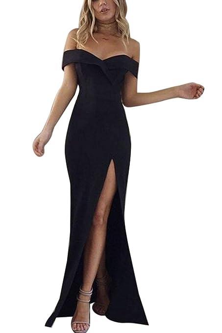 Vestidos elegantes en color negro
