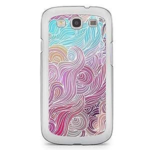 Hairs Samsung Galaxy S3 Transparent Edge Case - Design 7