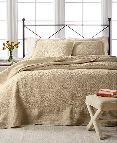 Martha Stewart Collection Lush Embroidery Queen Bedspread (Martha Stewart Bedspread)