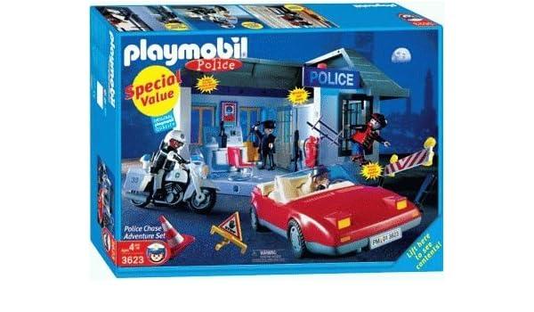 Amazon.com: Playmobil 3623 Police Special Value Set - Police ...